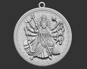 Durga Ji Pendant 3D print model