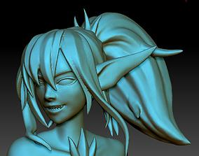 Mermaid siren 3D print model