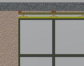 mechanism 3D model Sliding Door