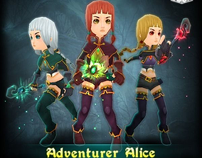 3D asset Adventurer Alice