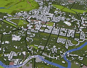 Edinburgh City UK 3D model