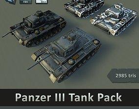 Panzer III Tank Pack 3D model