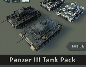 Panzer III Tank Pack 3D model