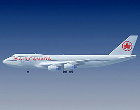Air Canada Boeing 3D model