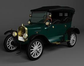 3D Ford 4door Tourer 1924