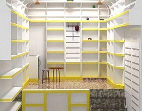 cabinet shot 3d model