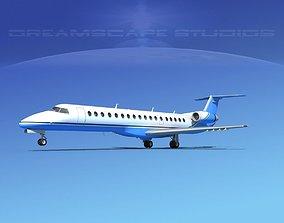 3D model Embraer ERJ-145 Corporate 2