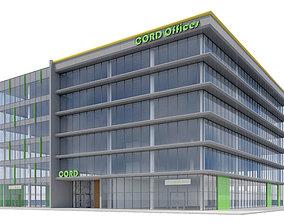 3D Commercial Building-012 Office Building
