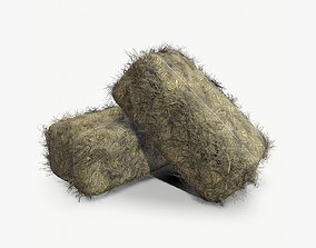 3D asset Game ready haystack