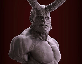 3D printable model HellBoy Bust
