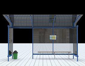 Busstop 2 3D model