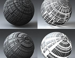 3D model Syfy Displacement Shader H 001 f
