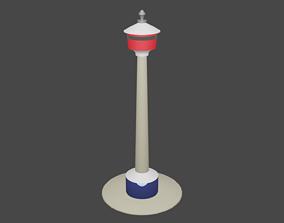 Calgary tower 3D print model
