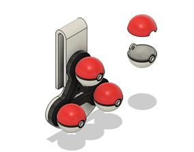 Sword and Shield Gym Leader Ball Holder 3D printable model