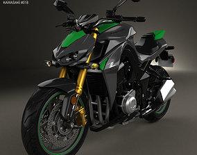 Kawasaki Z1000 2014 3D model