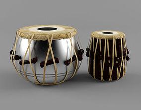 Tabla -Indian Musical instrument 3D model