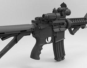 M4a1 - High poly 3D
