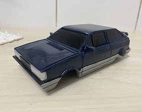 3D print model GOL GTI 90s car mini z 98mm