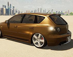 3d Twinmotion Car model - Mazda SP23