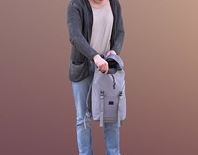 3D model Thorsten 10587 - Standing Casual Guy with Bag