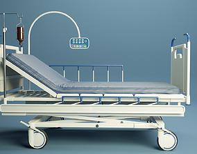 3D model Medical bed PBR