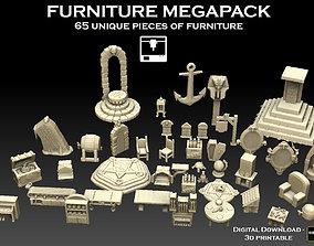3D print model Furniture Megapack