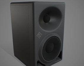 Powered Studio Monitor 3D asset