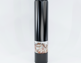 Salt Gring Mill Stick Electric 3D Model tableware