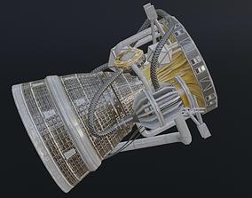 Photorealistic Rocket Engine 3D model