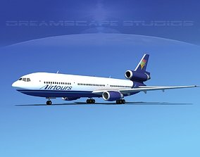3D model Douglas DC-10 Air Tours