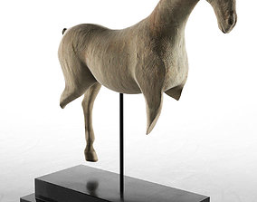 3D cavalry Kisber Cavalry Horse Fragment