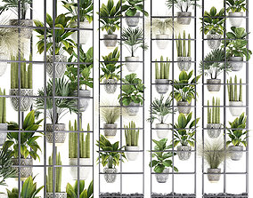 3D model Plants collection Vertical gardening 31