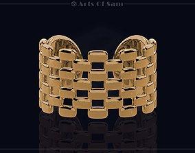 3D printable model Creative Square Ring