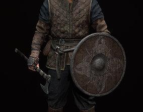Viking Leo 3D asset