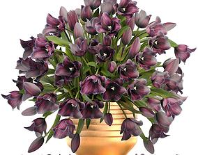 3D asset tulips
