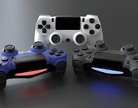 controller ps4 2019 3D model