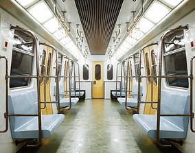 Subway Interior 3D asset