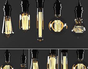3D model bulb light
