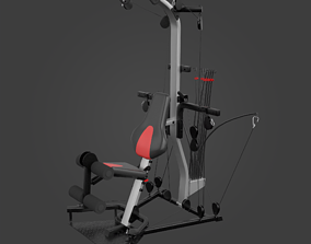 Home Gym-Exercise Equipment-06 3D asset