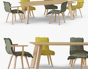 3D Leaf Chairs Set