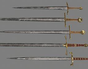 sword set 3D model