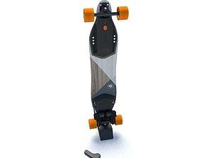 SkateBoosted 3D asset