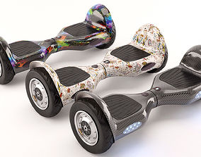 Self Balancing Electric Scooter 3D