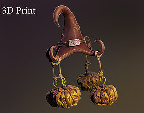 Witch hat chandelier 3D printable model