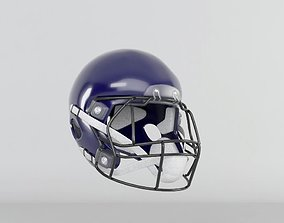 3D American Football Helmet official