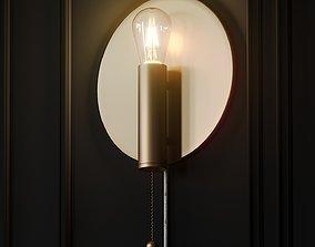 Art Deco wall lamp by Globen Lighting 3D model