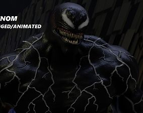 3D Venom Rigged and Animated