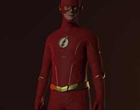 The Flash Season 6 Textures 3D model