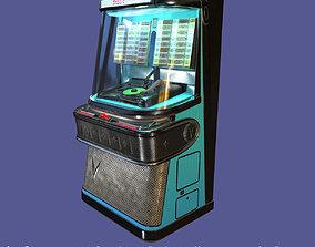 3D model Antique vintage retro music Jukebox or Rockola