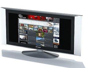 3D model Hitachi Widescreen Television